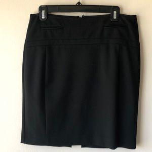 Express pencil skirt black sz 6